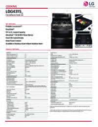 LDG4315 Spec Sheet