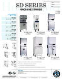 SD Series Stand Specifications Sheet