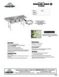T9 Series Sinks Spec Sheet