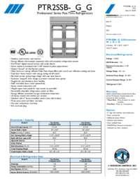 PTR2SSB Specifications Sheet