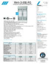 RH1 2 SSE FG Specifications Sheet