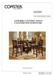 102889 Assembly Instructions
