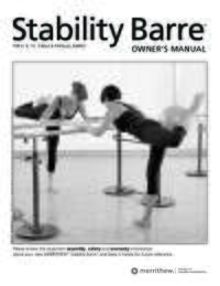Stability Barre User Manual