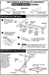 Bolt on Bed Frame Assembly Guide