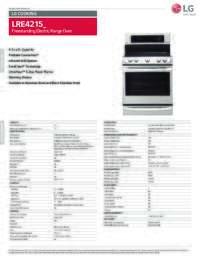 LRE4215 Spec Sheet
