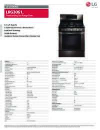 LRG3061 Spec Sheet
