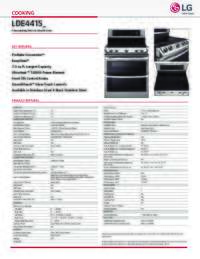 LDE4415 Spec Sheet