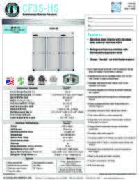 CF3S HS Specifications Sheet