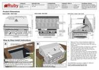 Ruby 3 Burner Pro Sear Spec Sheet