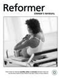 Rehab V2 Max Plus Reformer User Manual