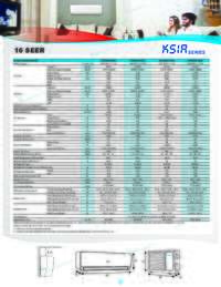 KSIA Series Specifications