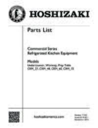 CRMR60 WD4 Parts List