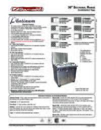 P 36 Combination Top Spec Sheet