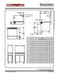 Spreader Cabinet Spec Sheet