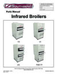 Infrared Broilers Parts Manual