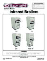 Infrared Broilers User Manual