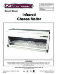 Platinum Series Cheesemelter User Manual