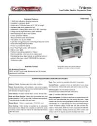 TrueVection Base Spec Sheet