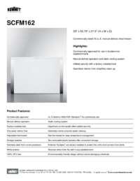 Brochure SCFM162