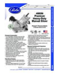 4600N Spec Sheet