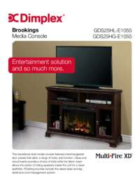 GDS25HL 100DO , GDS25HG 1055DO , GDS25HL E1055 , GDS25HG E1055 Brookings Sell Sheet
