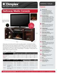 Galloway Media Console Sell Sheet