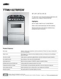 TTM61027BRSW Spec Sheet