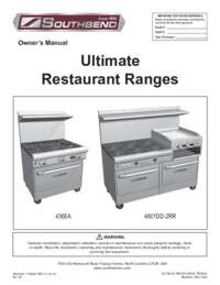 Ultimate Range Series User Manual