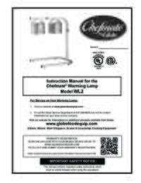 WL2 Food Warming Lamp Owner's Manual