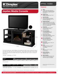 DFP20 1342BA Jayden Media Console Sell Sheet