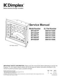 BF33STP BF33DXP BF39STP BF39DXP BF45DXP Service Manual