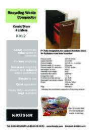 K012 Product Information