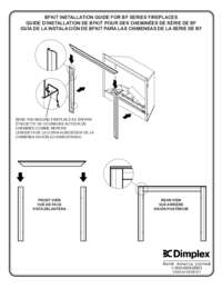 BF Decorative Trim Kit 33, 39, 45 Built in Firebox Installation Guide