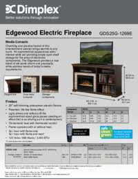 GDS25G 1269E Edgewood Sell Sheet