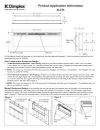 BLF50 6906780100 Product Application Information