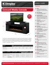 GDS50 1243SC Concord Sell Sheet