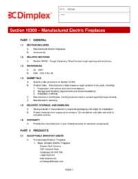 3 part Specification Sheet   BLF3451