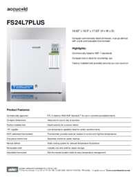 Brochure FS24L7PLUS