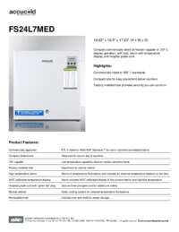 Brochure FS24L7MED