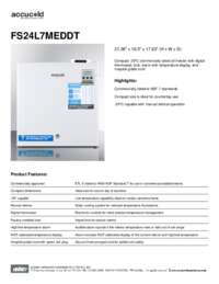 Brochure FS24L7MEDDT