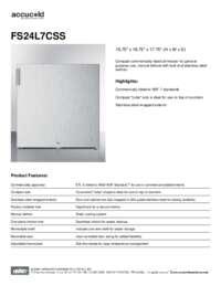 Brochure FS24L7CSS