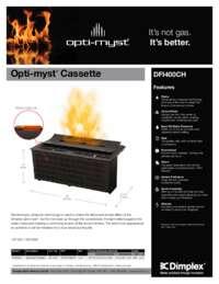 DFI400CH Opti myst Cassette Sell Sheet