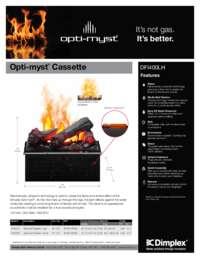 DFI400LH, DFI400RH Opti myst Cassette Sell Sheet
