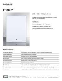 Brochure FS30L7