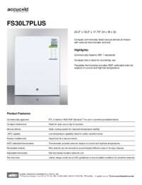 Brochure FS30L7PLUS