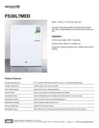 Brochure FS30L7MED