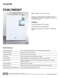 Brochure FS30L7MEDDT
