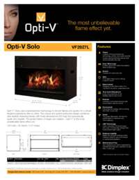 Opti V Solo Sell Sheet