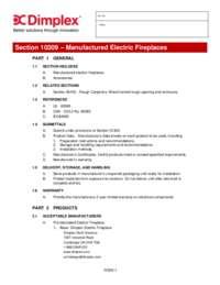 Opti V Solo (VF2927L) 3 part Spec Sheet