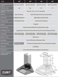 667 Spec Sheet